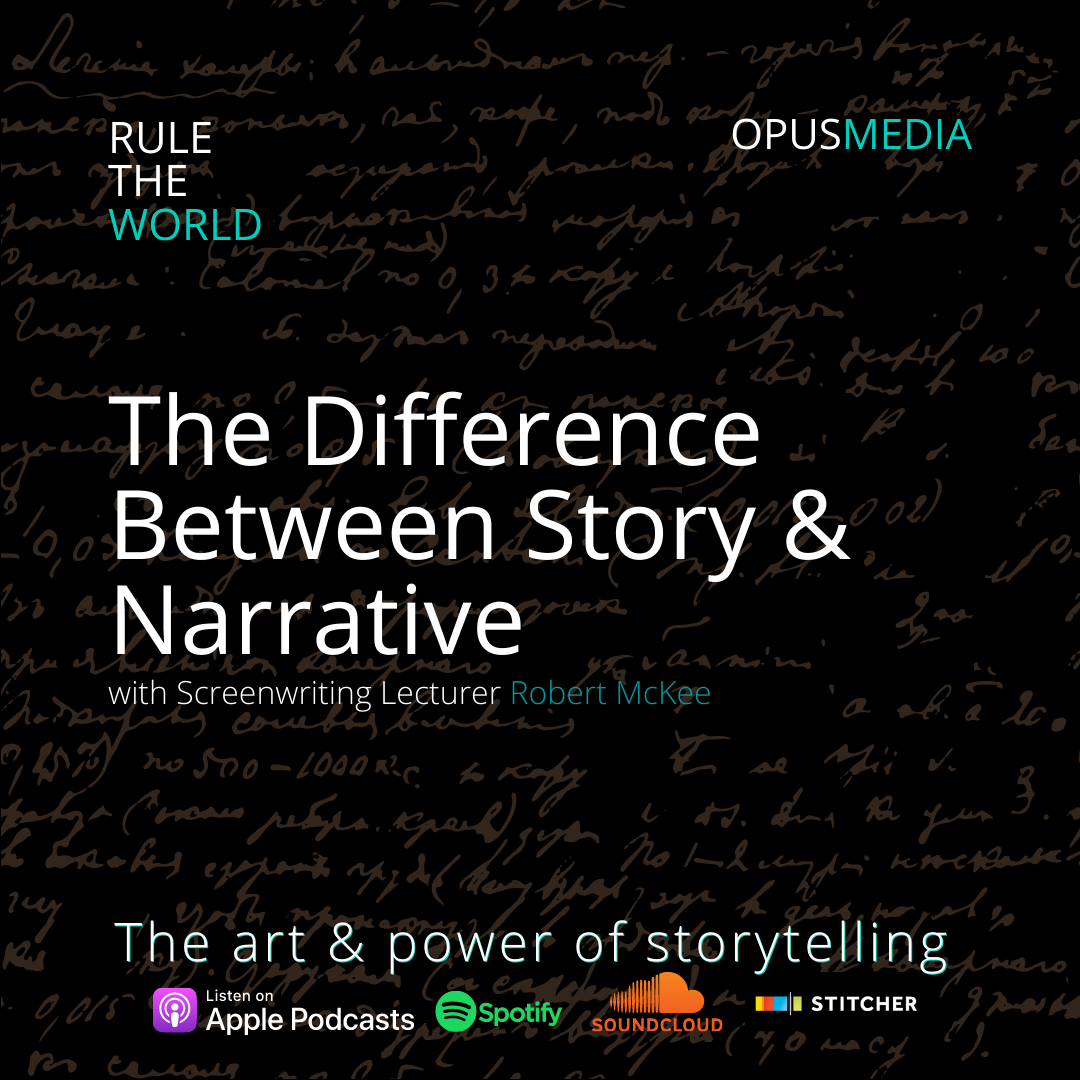 The Difference Between Story & Narrative with Screenwriting Lecturer Robert McKee