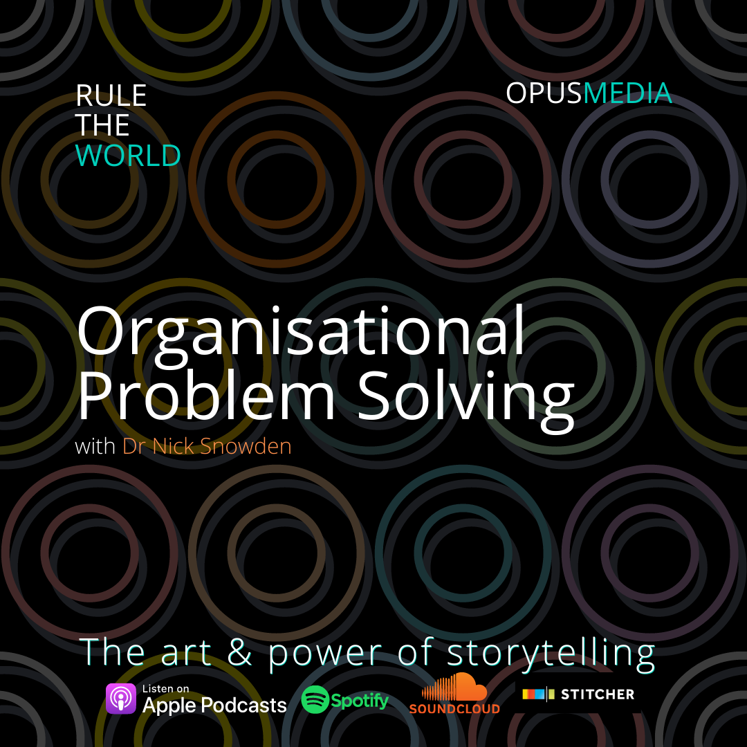 Organisational Problem Solving with Dr Nick Snowden