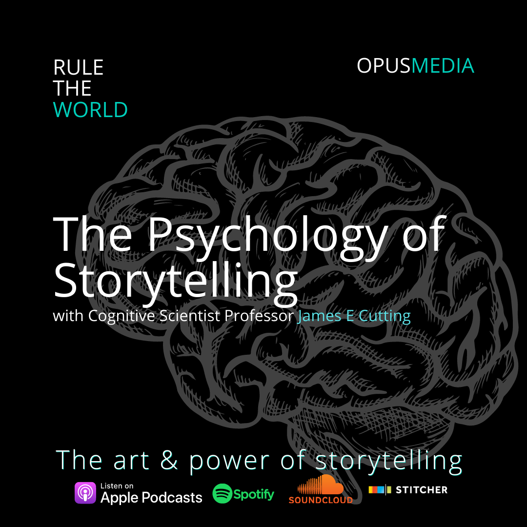 The Psychology of Storytelling with Cognitive Scientist Professor James E Cutting