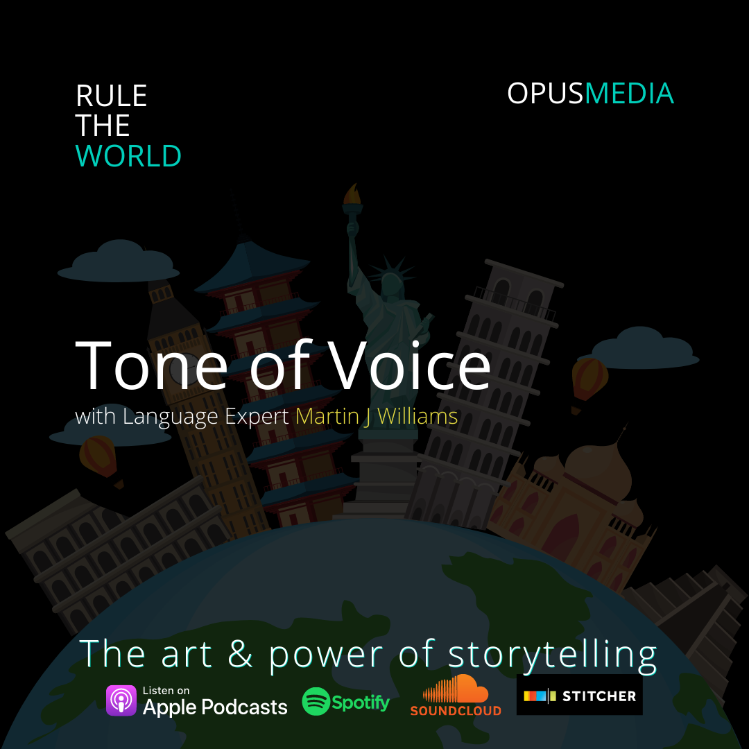 Tone of Voice with Language Expert Martin J Williams
