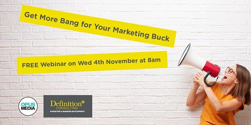 Get your brand messaging right. With Special Guests Kirsty Forman & Kathryn Bistacchi from Definition Consulting